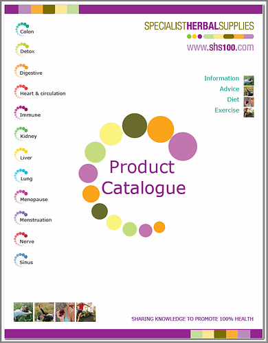 Specialist Herbal Supplies detailed herbal catalogue